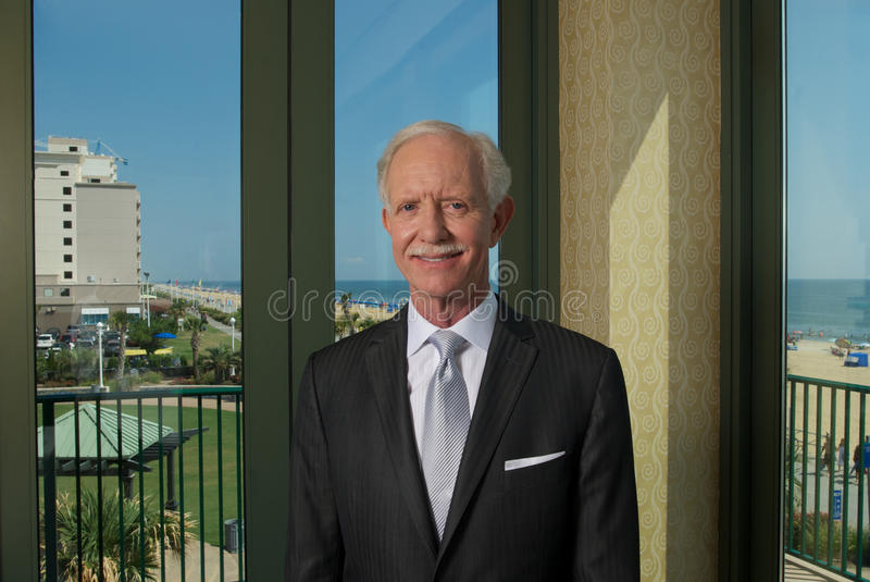 Capitano Sully Sullenberger fotografia stock