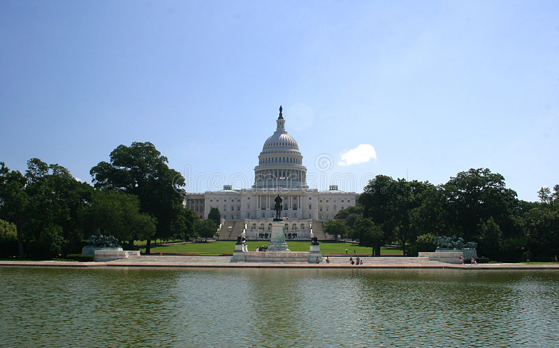 capitol εθνικό στοκ φωτογραφία με δικαίωμα ελεύθερης χρήσης