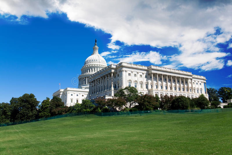 Capitol στο Washington DC στοκ εικόνες