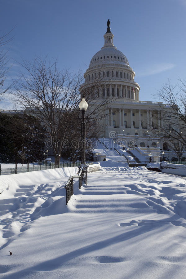 The Capitol royalty free stock photography