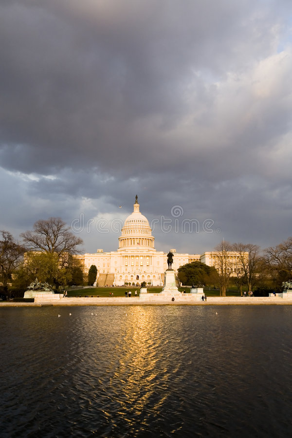 Download The Capitol stock photo. Image of representatives, cloudy - 6862120