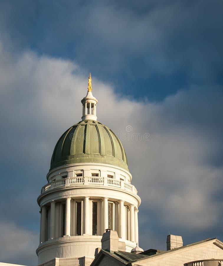 Capitol Augusta dello stato fotografia stock libera da diritti