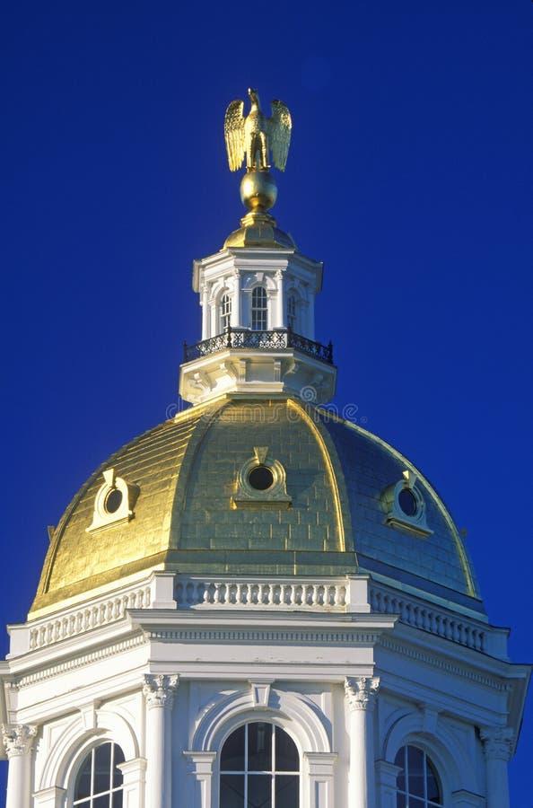 Capitol av New Hampshire arkivfoton
