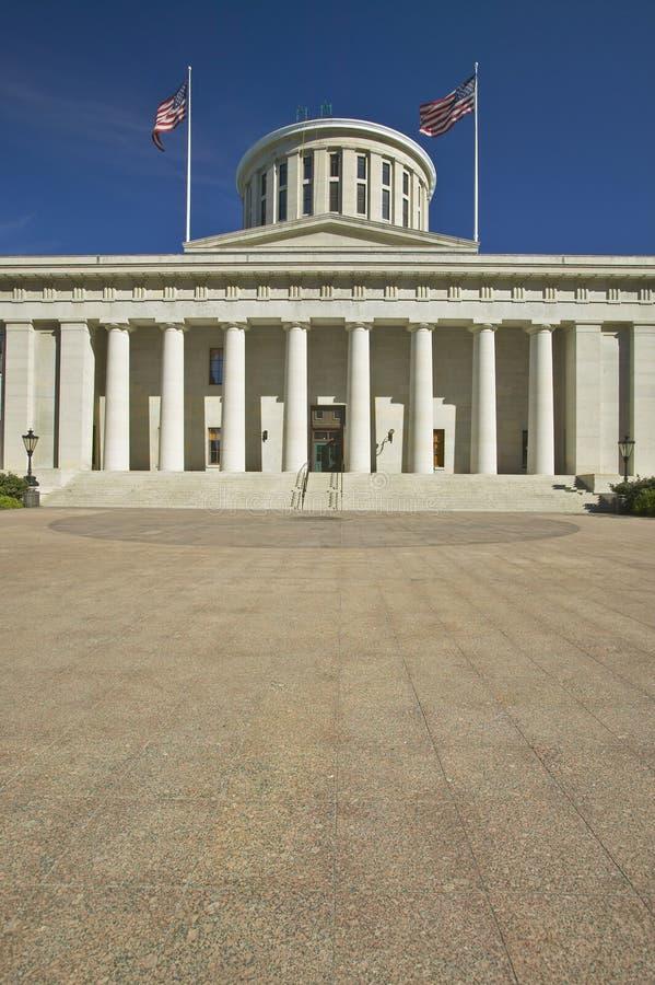 Capitol av Ohio royaltyfri bild
