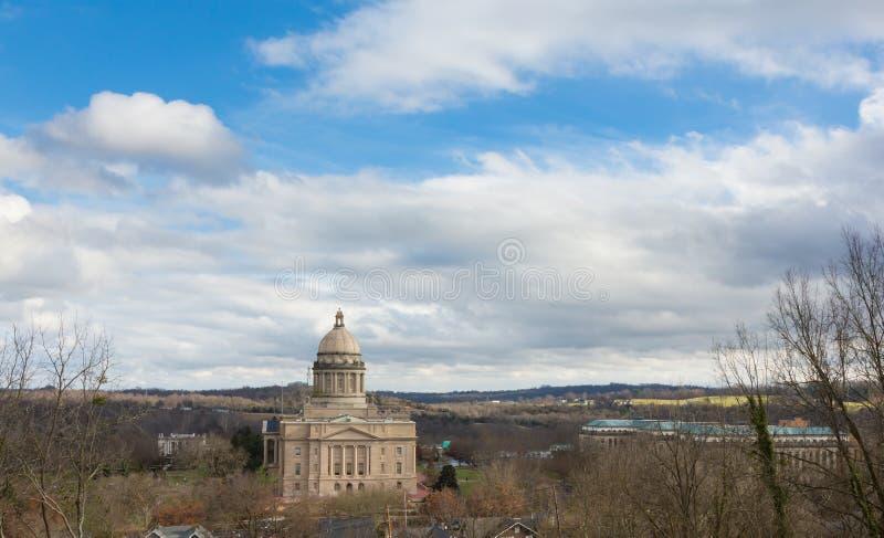 Capitol budynek w Frankfort zdjęcie stock