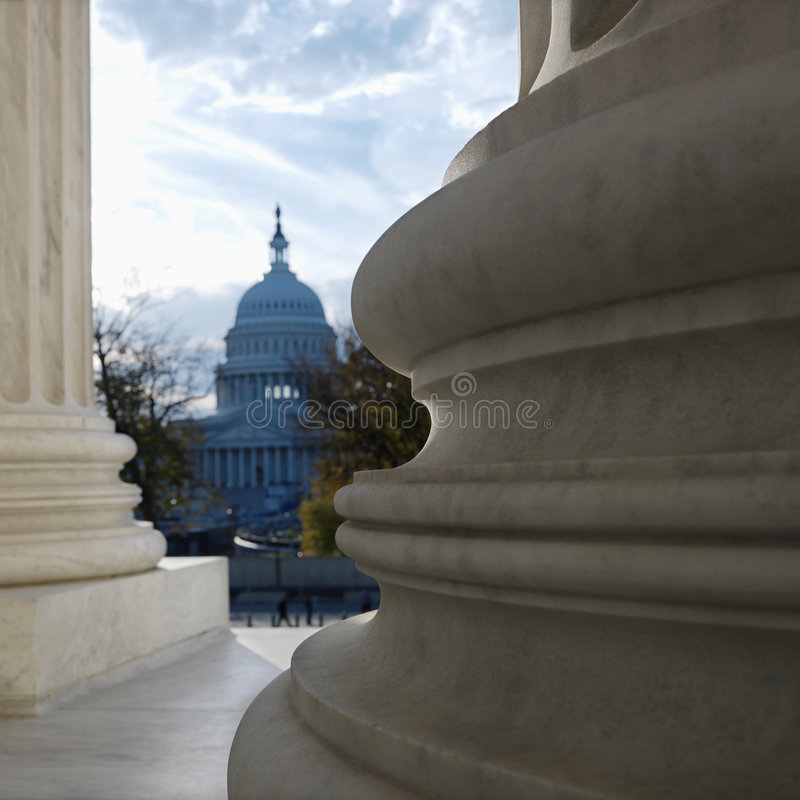 Capitol building royalty free stock image