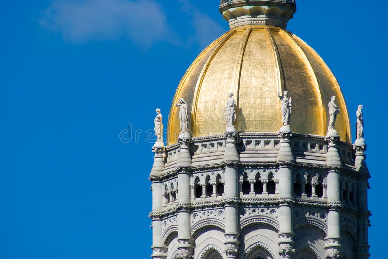Hartford Capitol Building royalty free stock photography