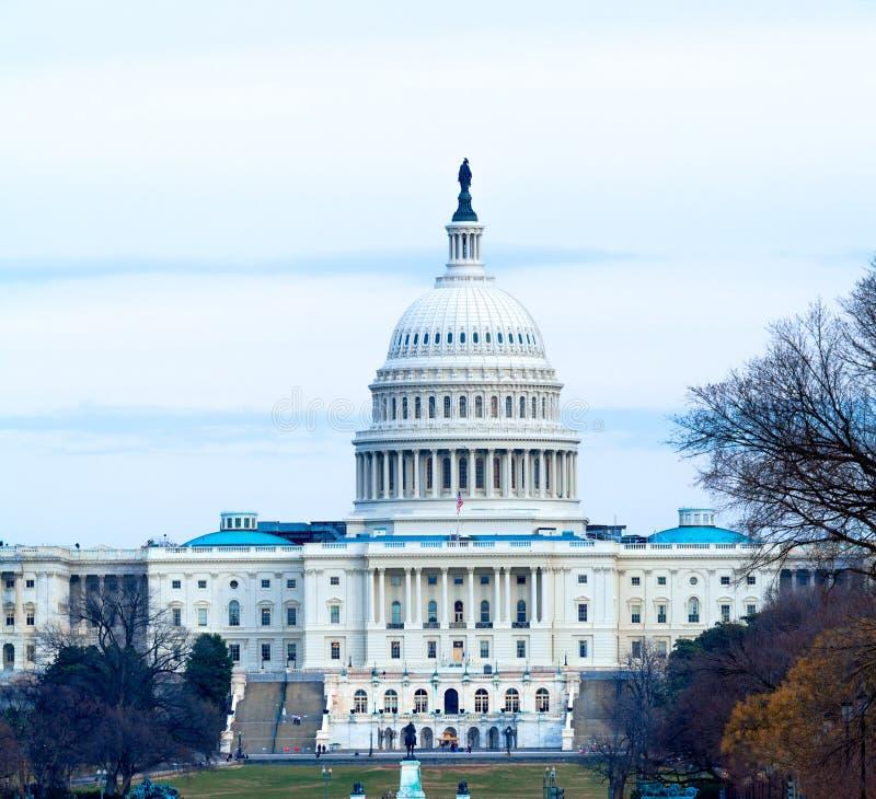 Capitol Building at Day, Washington DC stock photo