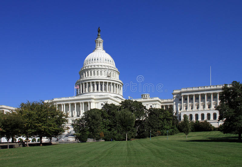 Capitol Building And Dome Royalty Free Stock Image