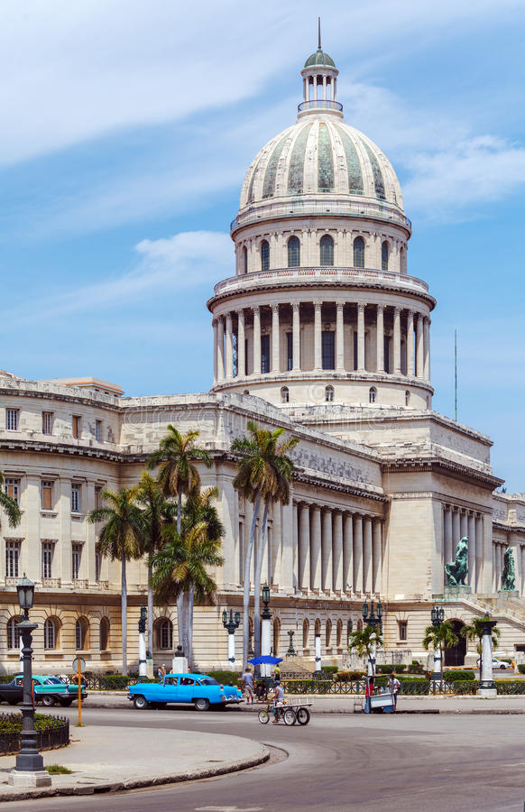 The Capitol building, Havana stock photography