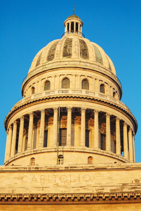 The Capitol building, Havana stock image