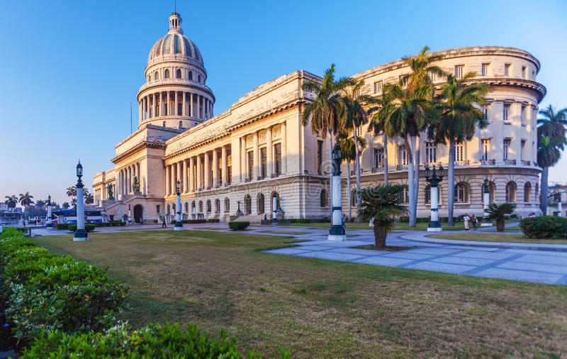 The Capitol building, Havana royalty free stock images