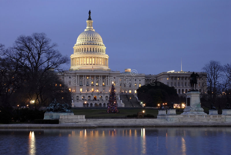 Capitol Building Monument Royalty Free Stock Photo