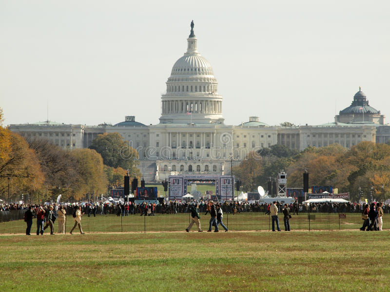 Download Capitol Building With Rally Stage In Front Editorial Photo - Image: 16751711