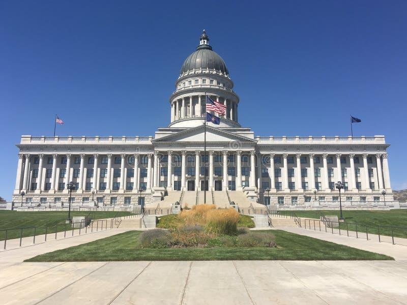 Capitol Building, Salt Lake City, Utah, Estados Unidos imagens de stock royalty free