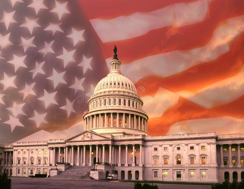 Capitol Building - Washington DC Royalty Free Stock Images