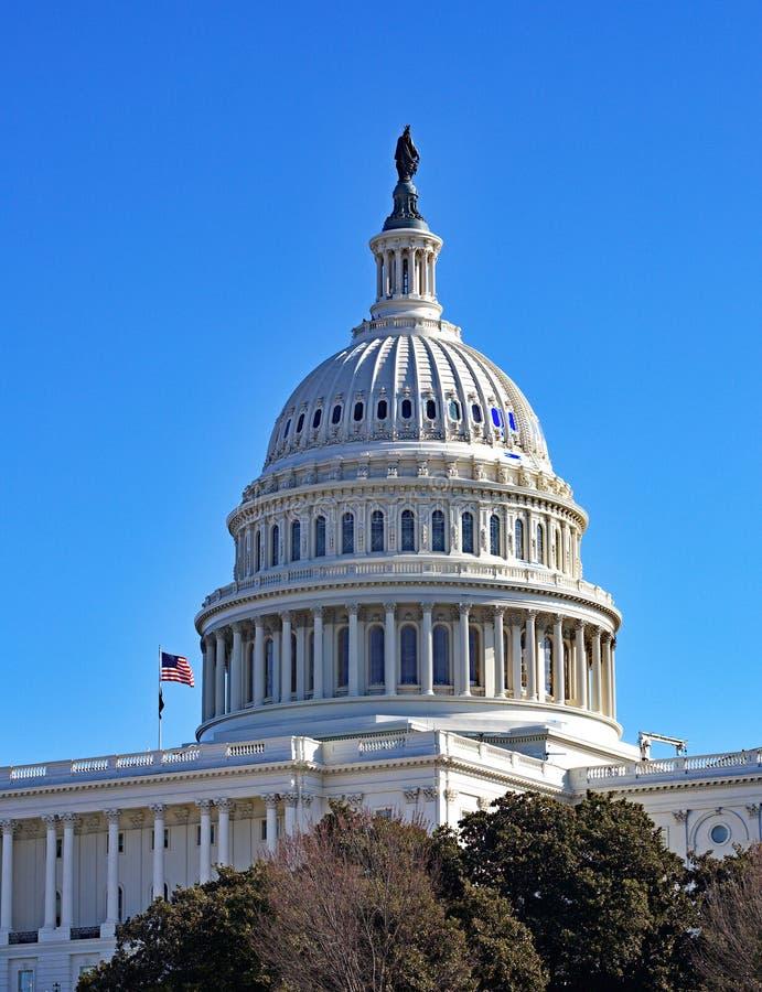 The Capitol Building - Washington DC stock photo