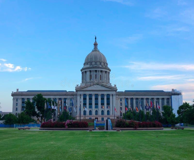 Capitol d'état à Ville d'Oklahoma image libre de droits