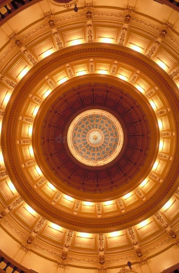 Capitol d'état - Austin, le Texas Etats-Unis image stock