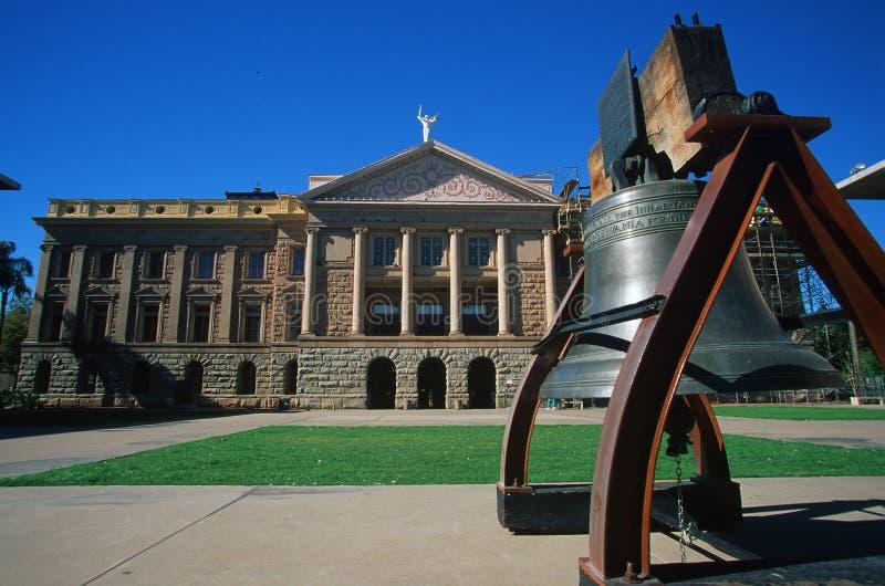 Capitol d'état de l'Arizona photo libre de droits