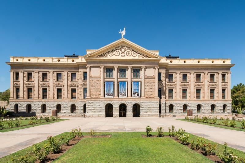 Capitol d'état de l'Arizona image libre de droits