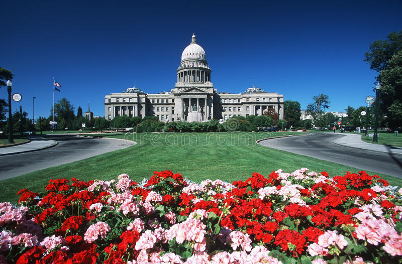 Capitol d'état de l'Idaho photo stock