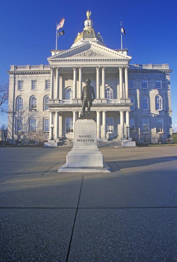 Capitol d'état de New Hampshire photographie stock libre de droits