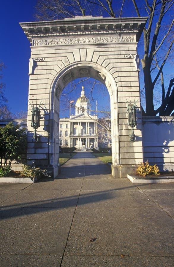 Capitol d'état de New Hampshire photos stock