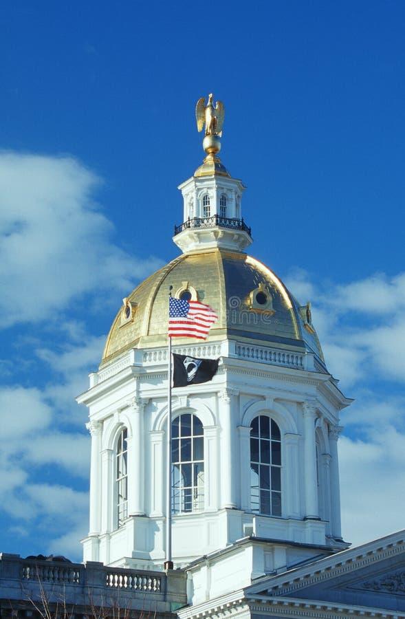 Capitol d'état de New Hampshire images stock