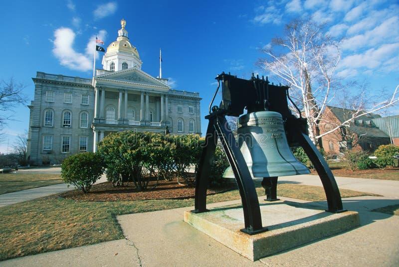 Capitol d'état de New Hampshire, images stock