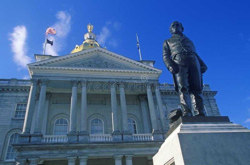 Capitol d'état de New Hampshire, photos libres de droits