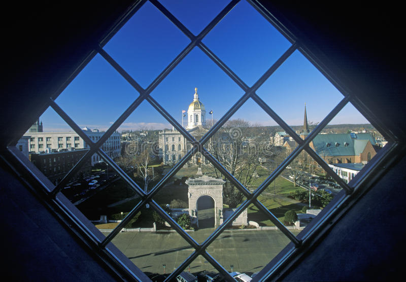 Capitol d'état de New Hampshire, accord images libres de droits