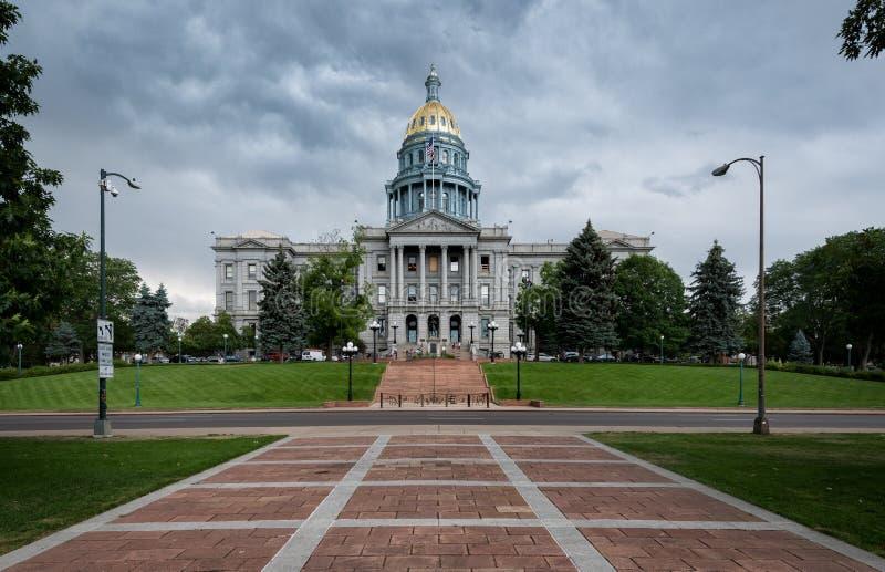 Capitol d'état du Colorado image libre de droits