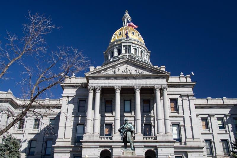 Capitol d'état du Colorado photo libre de droits
