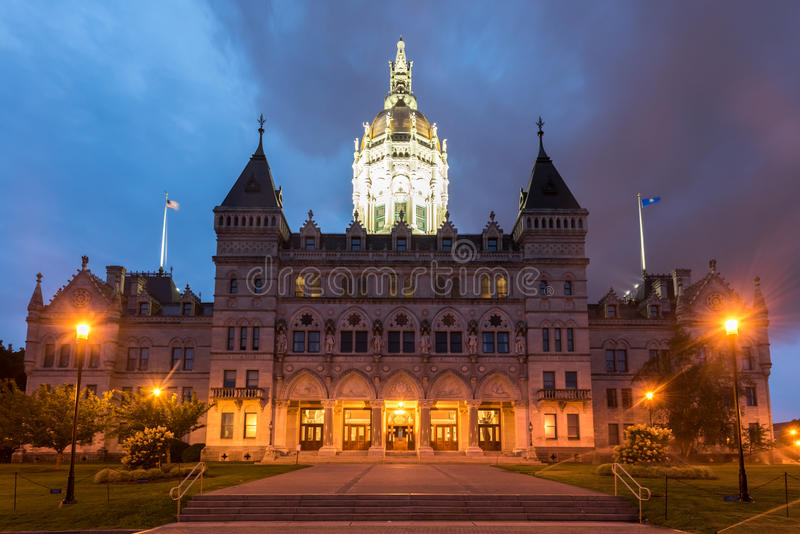 Capitol d'état du Connecticut images stock