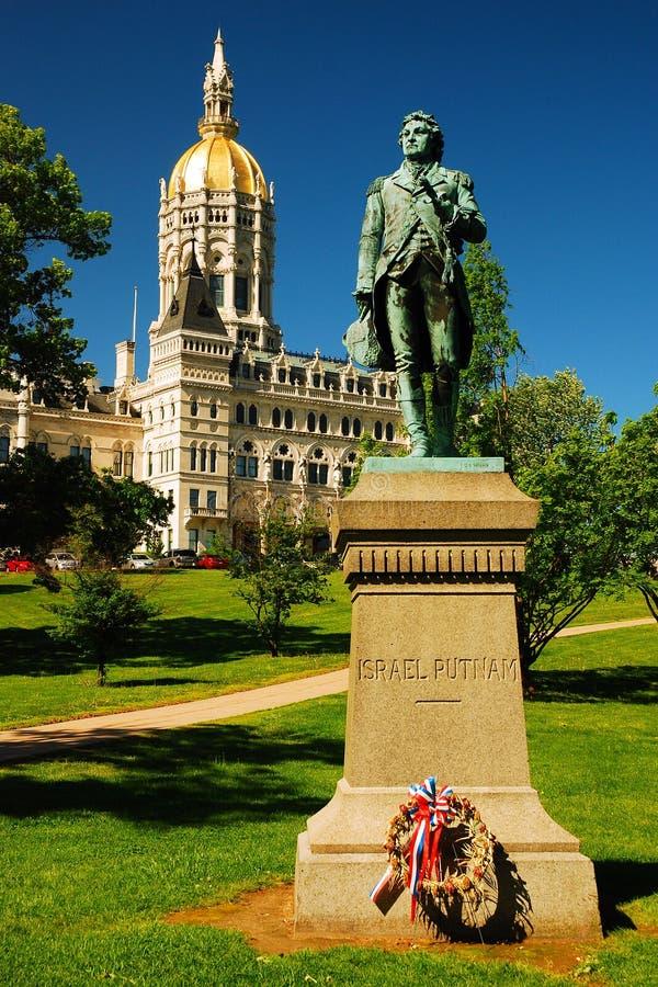 Capitol d'état du Connecticut photos stock