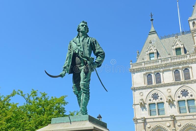 Capitol d'état du Connecticut, Hartford, CT, Etats-Unis images stock