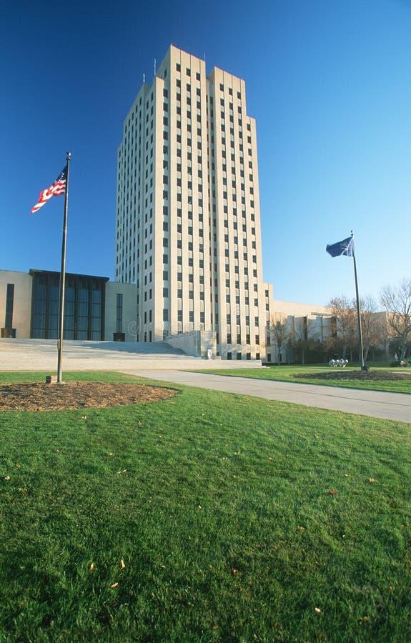 Capitol d'état du Dakota du Nord, images libres de droits