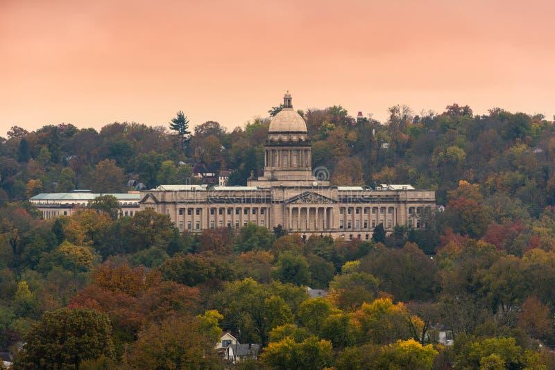Capitol d'état du Kentucky photo libre de droits