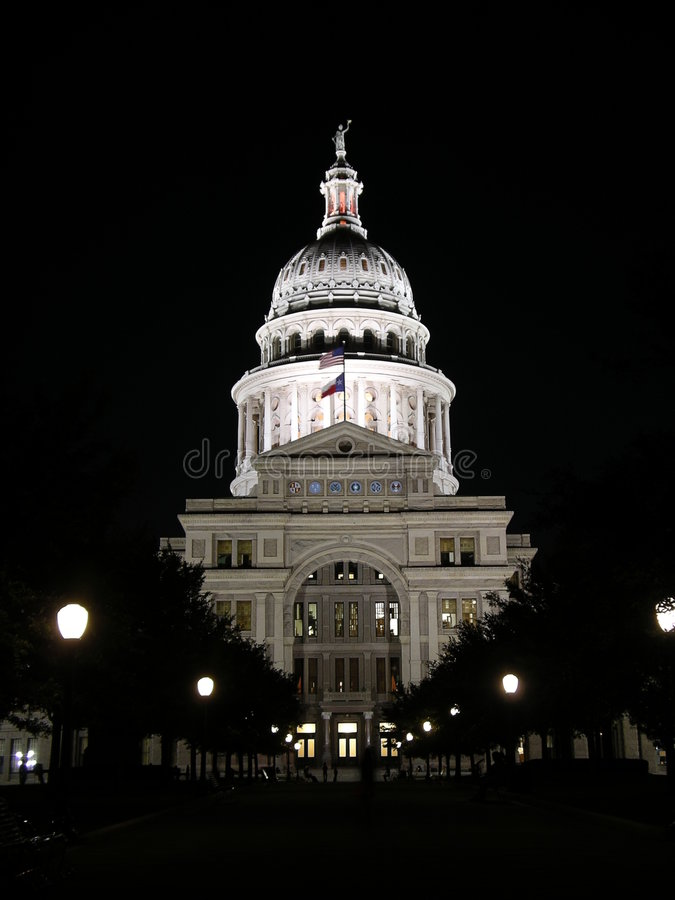 Capitol d'état du Texas photos stock