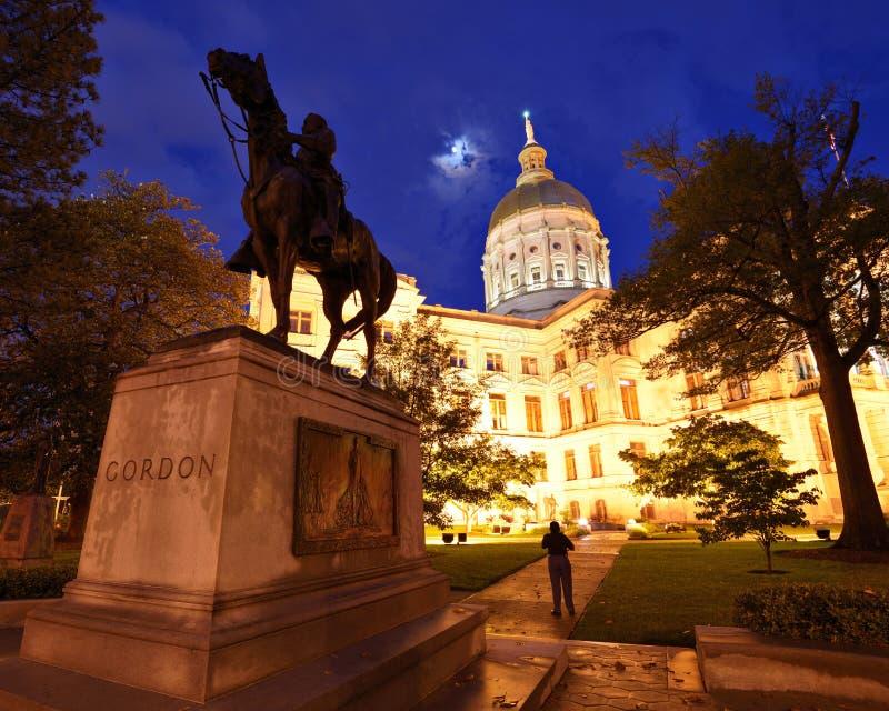 Capitol de Georgia State imagen de archivo libre de regalías
