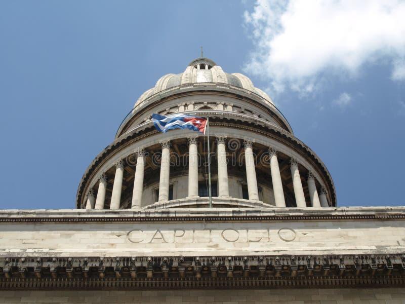 Capitol de La Havane images stock