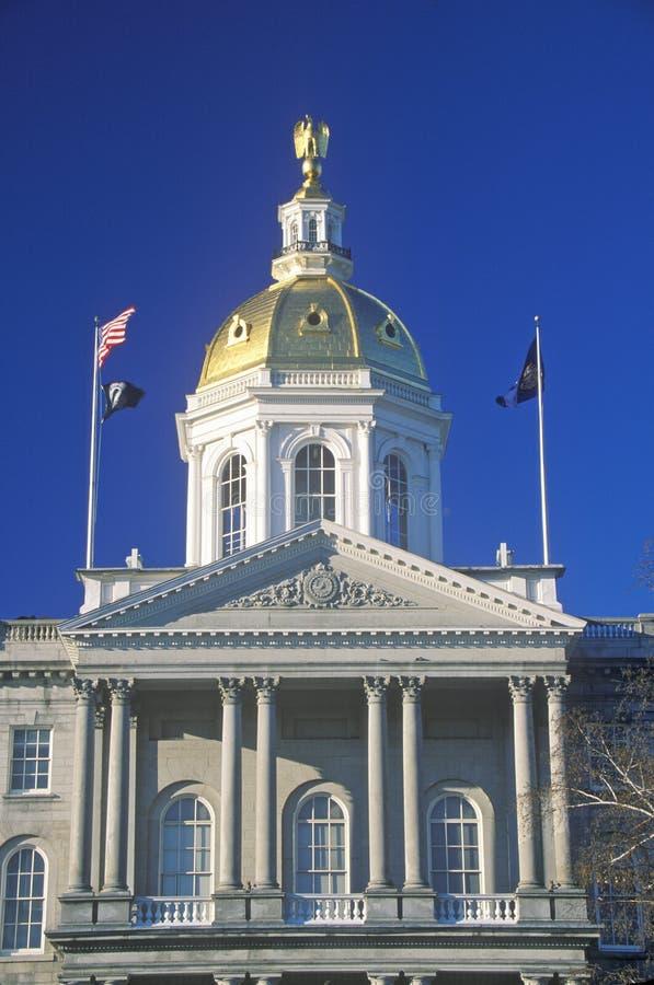 Capitol de New Hampshire image stock