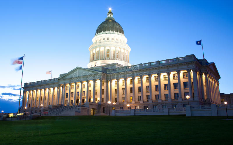 Capitol de Salt Lake City images libres de droits