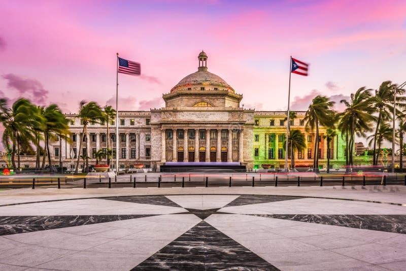Capitol de San Juan, Porto Rico photo libre de droits