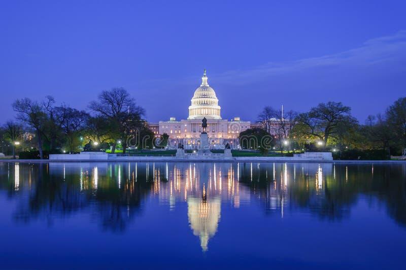 capitol de Washington, C.C. de Washington, u S A imagen de archivo libre de regalías