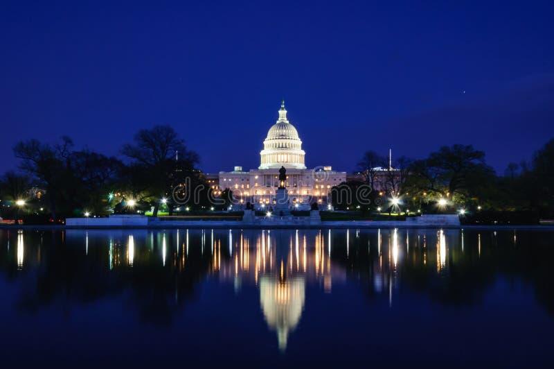 capitol de Washington, C.C. de Washington, u S A fotografía de archivo libre de regalías