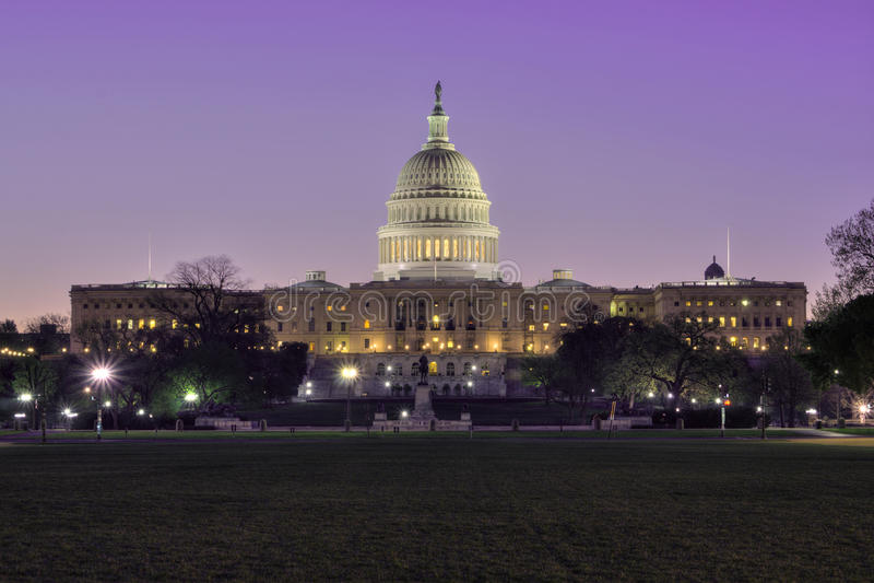 Capitol del Washington DC fotografie stock