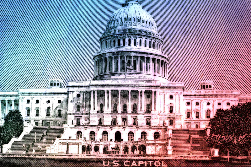 Capitol des USA images stock