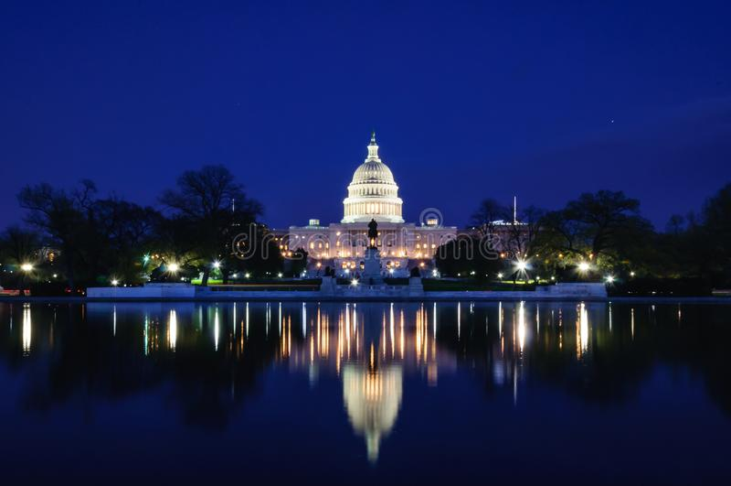 capitol di Washington, DC di Washington, u S a fotografia stock libera da diritti